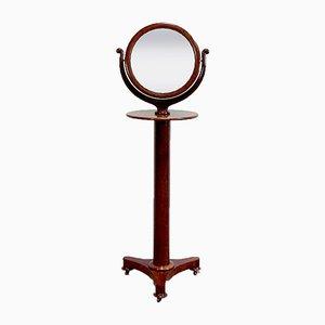 Empire Psyché Mirror in Mahogany, Early 19th Century