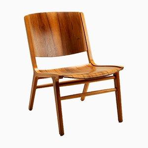 Ax Chair by Hvidt and Mølgaard-Nielsen for Fritz Hansen, Denmark, 1960s