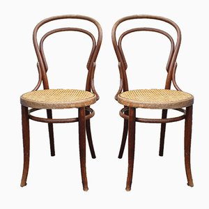 Bugholz Stühle von Jacob & Josef Kohn, 2er Set