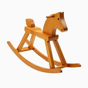 Child's Rocking Horse by Kay Bojesen, Denmark, 1960s
