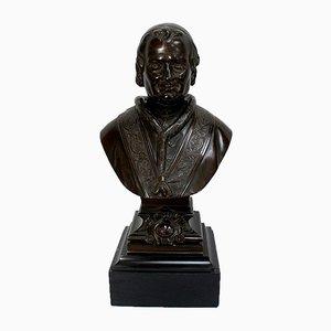 Bronze Bust of Pope Pius IX, Late 19th Century