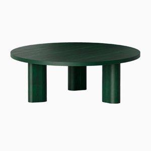 Runde Galta Tische aus grüner Eiche von Kann Design, 4er Set