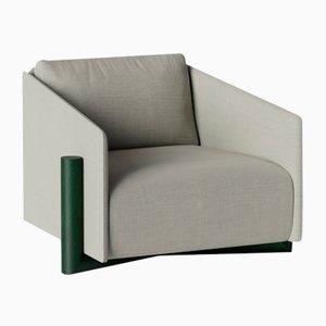 Graue Timber Armlehnstühle von Kann Design