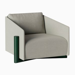Grey Timber Armchairs from Kann Design