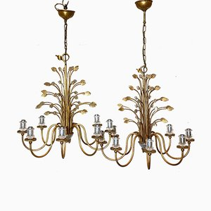 Chandeliers from Banci, 1980s, Set of 2