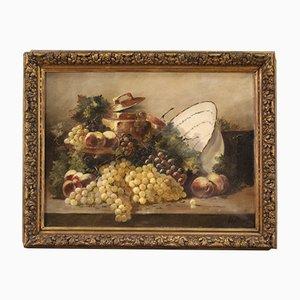 Peinture Nature Morte Antique, France, 19ème Siècle