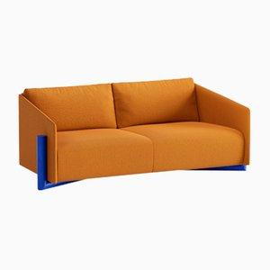 Timber 3-Seater Sofas in Mustard from Kann Design