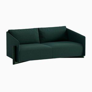 Holz 3-Sitzer Sofa in Grün von Kann Design