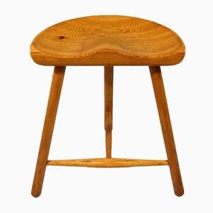 Pine Tripod Chair by Arne Hovmand Olsen, Denmark