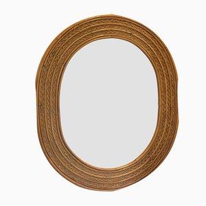 Wicker Mirror, 1970s