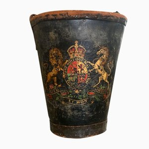 19. Jahrhundert Feuereimer aus Leder