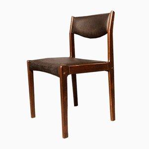 Dänische Esszimmerstühle aus Palisander von Sax, 6er Set