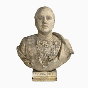Plaster Bust by August Albo, 1933