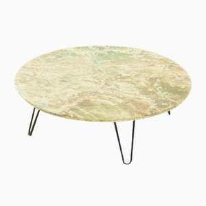 Mesa de centro de mármol ónix