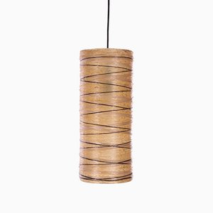 Vintage Fiberglass French Hanging Lamp, 1960s
