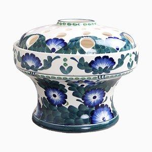 Flower Arranging Vase from Aluminia, Denmark, 1900s