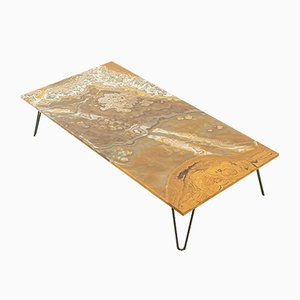Onyx Marble Coffee Table