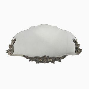 Art Deco Mirror with Faceted Glass