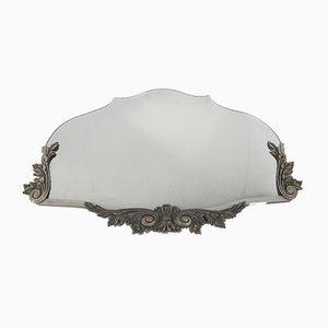 Art Deco Spiegel mit Facettiertem Glas