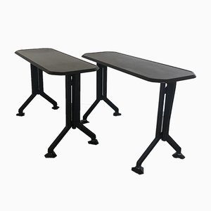 Arco Consoles by BBPR for Olivetti Synthesis, Set of 2