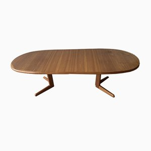 Vintage Danish Extending Dining Table by Erik Buch