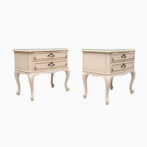French Provincial Nightstands, 1950s, Set of 2