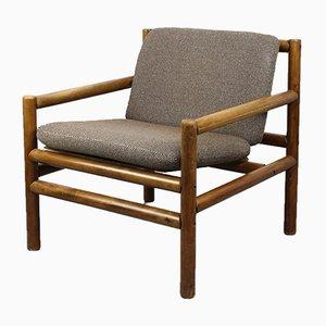 Mid-Century Minimalist Armchair