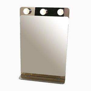 Specchio Mid-Century con luci