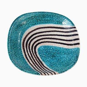 Ceramic Dish by Alvino Bagni, 1960s
