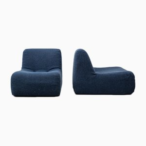 Vintage Armchairs by Rolf Benz, 1970s, Set of 2
