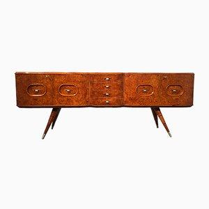 Italienisches Sideboard aus Birkenholz, 1950er