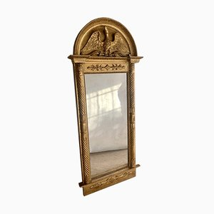 Antique Scandinavian Empire Mirror