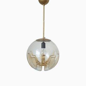 Mid-Century Murano Glass Pendant Lamp from Mazzega, Italy, 1970s