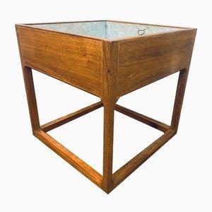 Danish Teak Cubic Planter by Aksel Kjersgaard, 1960s