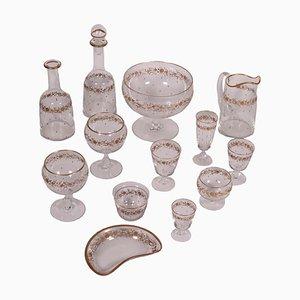 Kristallglas Geschirr Set
