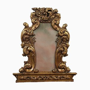Baroque Style Wooden Mirror