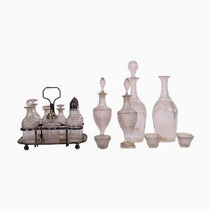 English Crystal Tableware Set