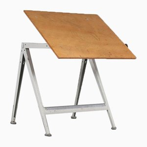 Drawing Table by Wim Rietveld for Ahrend de Cirkel, the Netherlands, 1950s