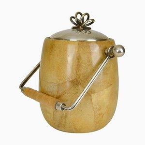 Parchment Ice Bucket by Aldo Tura