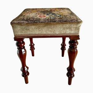 Antique William IV Mahogany Stool