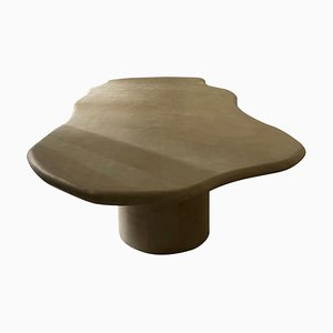 Sculptural Dining Table 200 with 2 Legs by Urban Creative