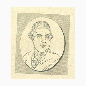 Thomas Holloway, Portrait, Radierung, 1810