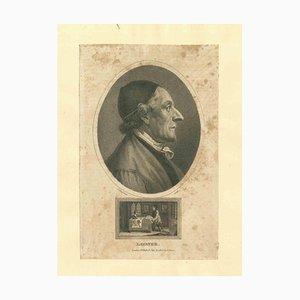 John Chapman, Portrait of Lavater, Etching, 1810