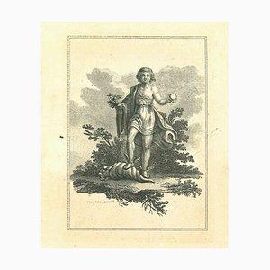 Thomas Holloway, Porträt von Hermes, Radierung, 1810