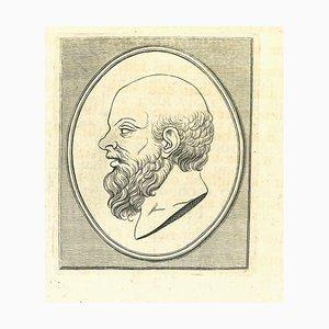 Thomas Holloway, Porträt eines Mannes, Radierung, 1810