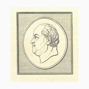 Thomas Holloway, Portrait of a Man, Etching, 1810