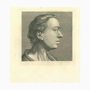 John Thornthwaite, Portrait of a Man, Etching, 1810