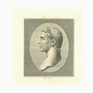 John Hall, Portrait of a Man, Etching, 1810