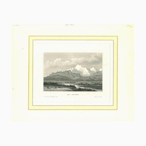 Various Artists, Ancient View of Caucasus, Etching, Mid-19th Century