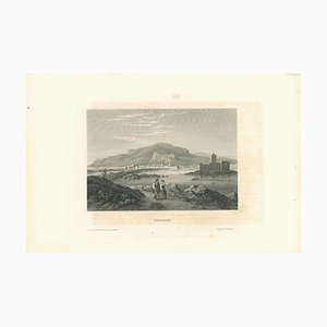 Various Artists, Ancient View of Trapani, Lithograph, Mid 19th Century
